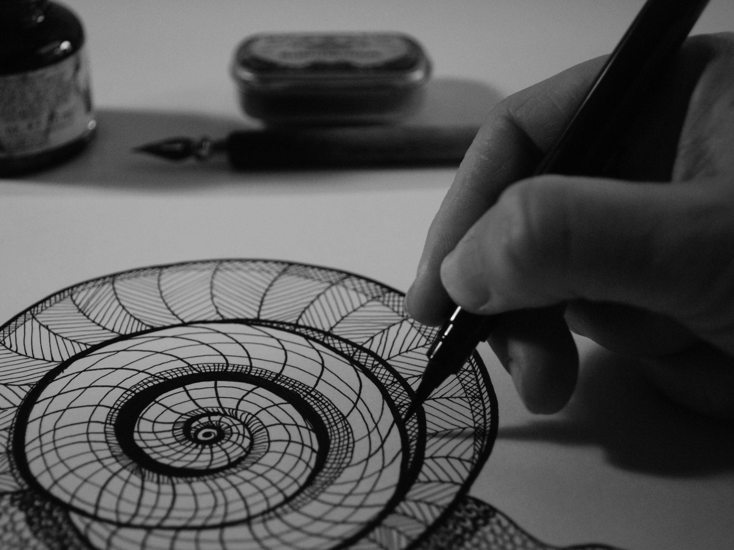 Ilustrando caracol
